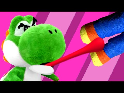 Yoshi Eats His Friends