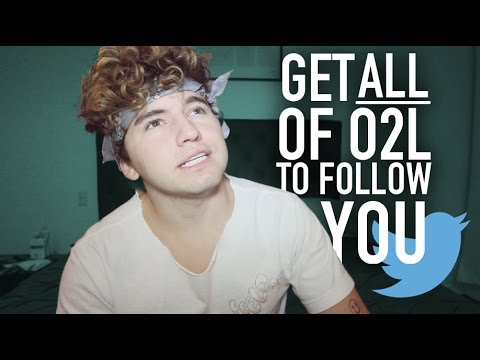 How To Get O2L To Follow You On Twitter