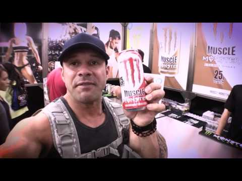 Free Monster energy drink with protein - San Jose Fit Expo 2016