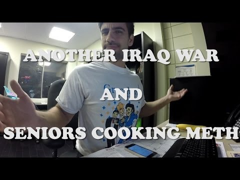 ANOTHER WAR IN IRAQ & SENIORS COOKING METH?!?1 - #RSDS 6-16-14