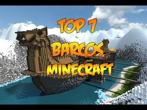 TOP 7 BARCOS MINECRAFT | Construcciones | Los barcos m�s �picos de Minecraft!!