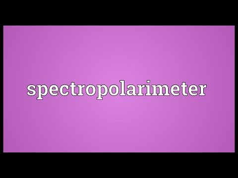 Header of spectropolarimeter