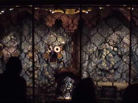 Sharad Purnima Sandhya Arati - Hg Krishna Kripa Dasa video