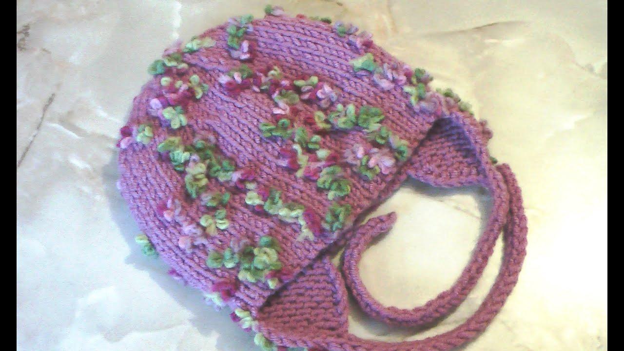 Вязание шапок из пряжи для девочки 369