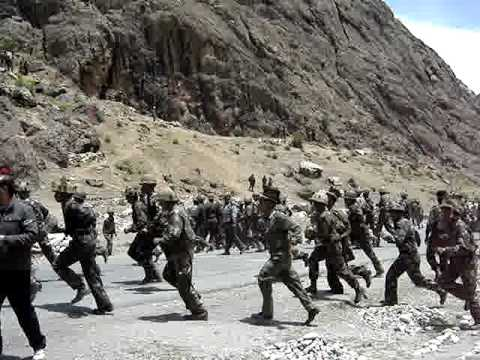 Indian Army Training in Kashmir