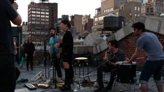 Rubblebucket- Young and Old- Relix rooftop, NYC 8-28-14