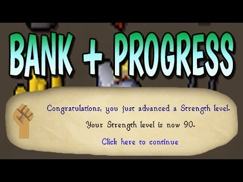 Runescape 2007 - Pre-Zerker Bank + Awesome Progress!