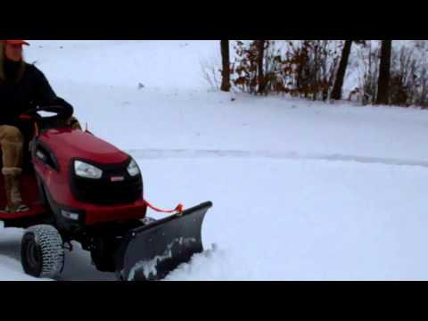 Nordic Auto Plow Universal Riding Mower Plow - Snow