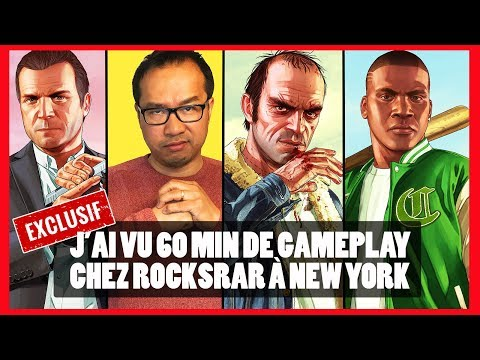 GTA 5 : on a vu une heure de gameplay chez Rockstar à New York Music Videos