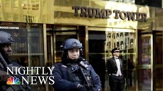 Keeping NYC Trump Tower Safe: An Unprecedented Challenge | NBC Nightly News