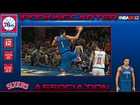 NBA 2K13 Association: Philadelphia 76ers - Ep. 8 | Sixers Welcome Michael Carter-Williams