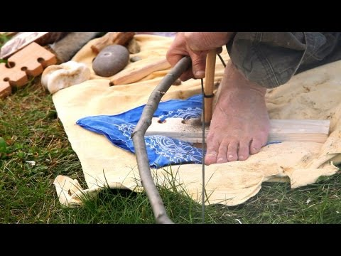 Tools Needed to Make Fire w/ Bow Drill | Survival Skills