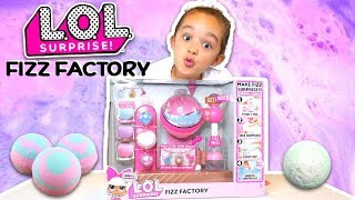 BRAND NEW LOL SURPRISE FIZZ FACTORY TOY OPENING WITH ULTRA RARE CHARMS