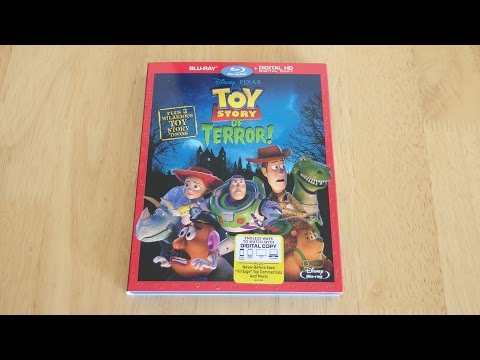 Disney • Pixar Toy Story of Terror! Blu-Ray & Digital Copy Unboxing & Review