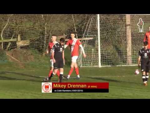 Goal: Mikey Drennan (1st vs Cobh Ramblers 19/01/2019)