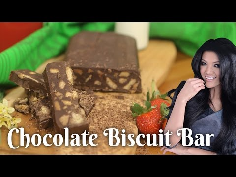 Resep Chocolate Biscuit Bar Farah Quinn