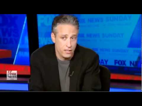Chris Wallace interviews Jon Stewart (transparent edits) Part 1