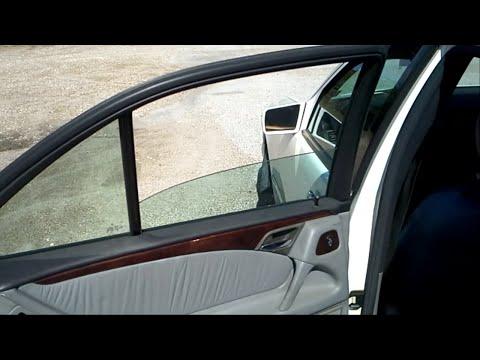 Mercedes Window Temporary Fix E320 E430 W210