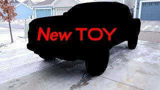 1st Look at our new TOY - 2018 Toyota Tacoma