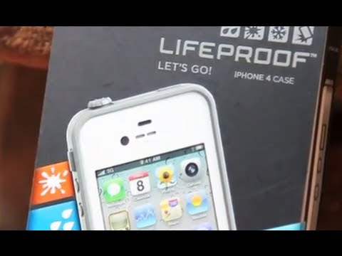iPhone 4s Case - LIFEPROOF Case - unboxing and testing