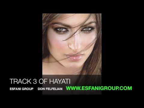 New Iranian Persian Music Track 3 Of Hayati Slow Song Don Felfelian 2011 video