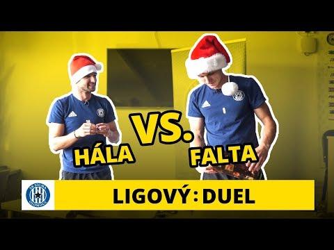 Duel: Martin Hála a Šimon Falta balí vánoční dárky!