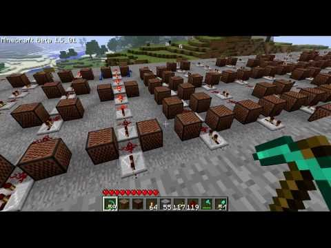 Minecraft Note Block Music: Katy Perry - Teenage Dream (Full...