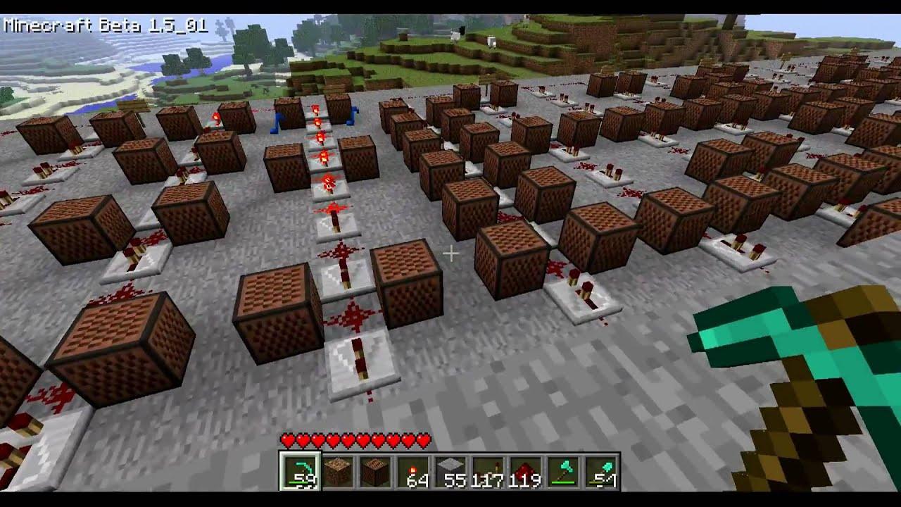Minecraft Note Block Music Katy Perry Teenage Dream
