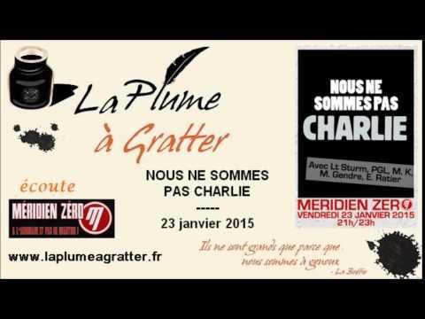 Nous Ne Sommes Pas Charlie – Emmanuel Ratier Et Maurice Gendre Sur Méridien Zéro (23 Janvier 2015) video