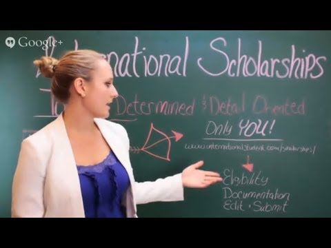 How To Find An International Scholarship