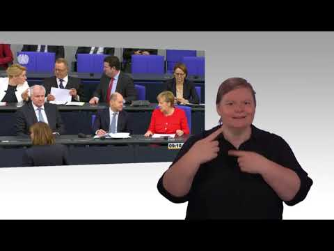 Gebärdensprachvideo: Jahresbericht zum Stand der Deutschen Einheit 2018