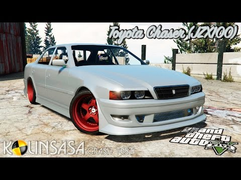 Toyota Chaser (JZX100) cambered [add-on]