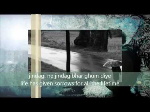 - Zindagi Ne Zindagibhar (The Train) With Lyrics translated...