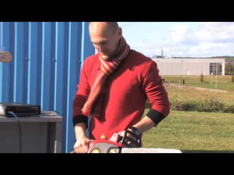 RH450 drives electrical chainsaw