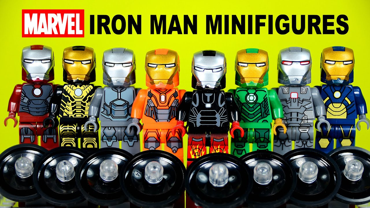 Iron Man Suit Collection Lego Iron Man Suit of Armor