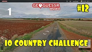 Geoguessr - 10 Country Challenge #12 - Epic Game
