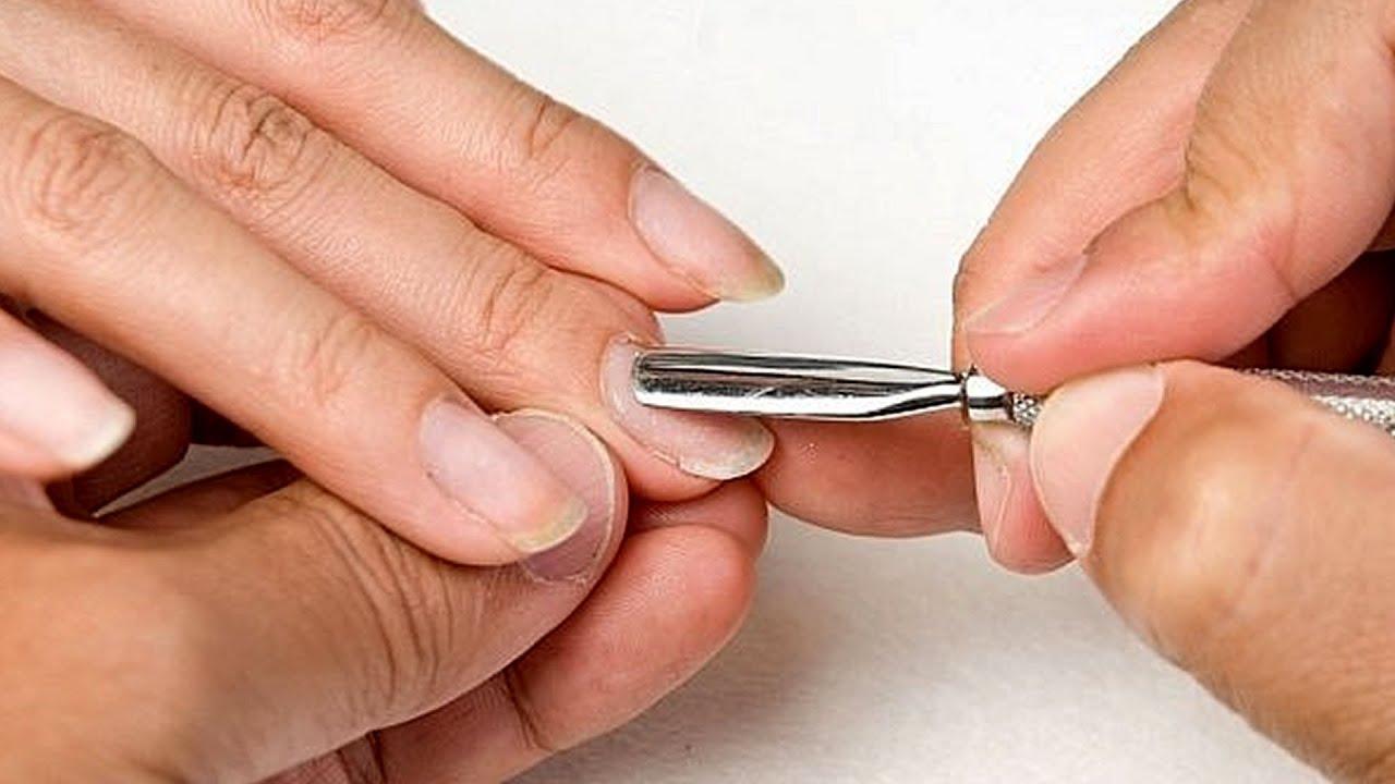 Как сделать ногти квадратной формы в домашних условиях фото пошагово