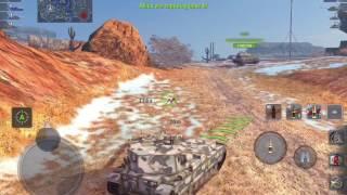 World of Tanks Blitz - FV215b 183 gameplay
