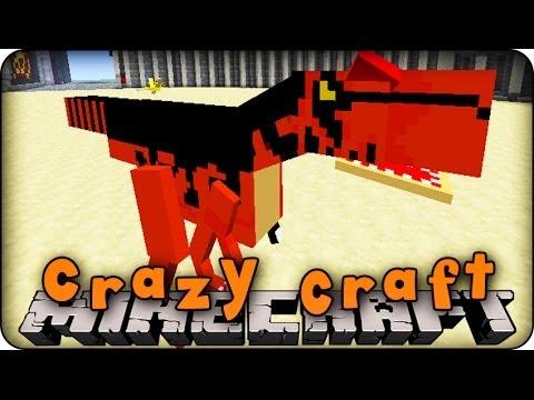 Minecraft new orespawn mod bosses praying mantis t rex stinky