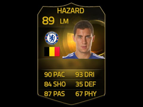 Fifa 15 If Hazard 89 Player Review & In Game Stats Ultimate Team video