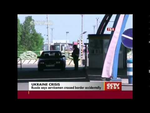 Russia says servicemen crossed border accidentally