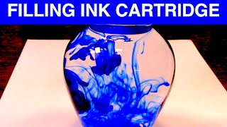 ASMR - How I Refill an Ink Cartridge
