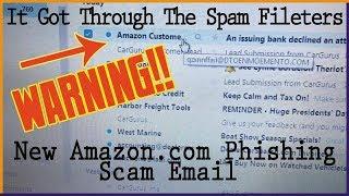 New Amazon Phishing Scam 2019 - This is Dangerous!