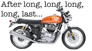 At Long, Long, Long, Long, Last - UK Royal Enfield Interceptor First Ride