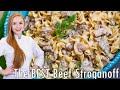 The Best Beef Stroganoff