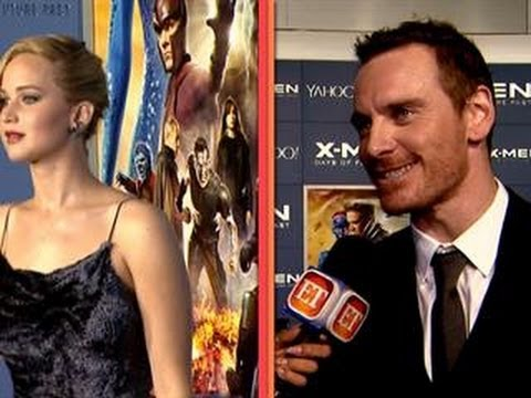 Jennifer Lawrence & Her 'X-Men' Co-Stars On Her Being Named 'Sexiest Woman'