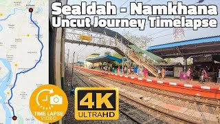 Kolkata Local Timelapse : Sealdah to Namkhana Full Journey Hyperlapse | GoPro Hero 7 4K
