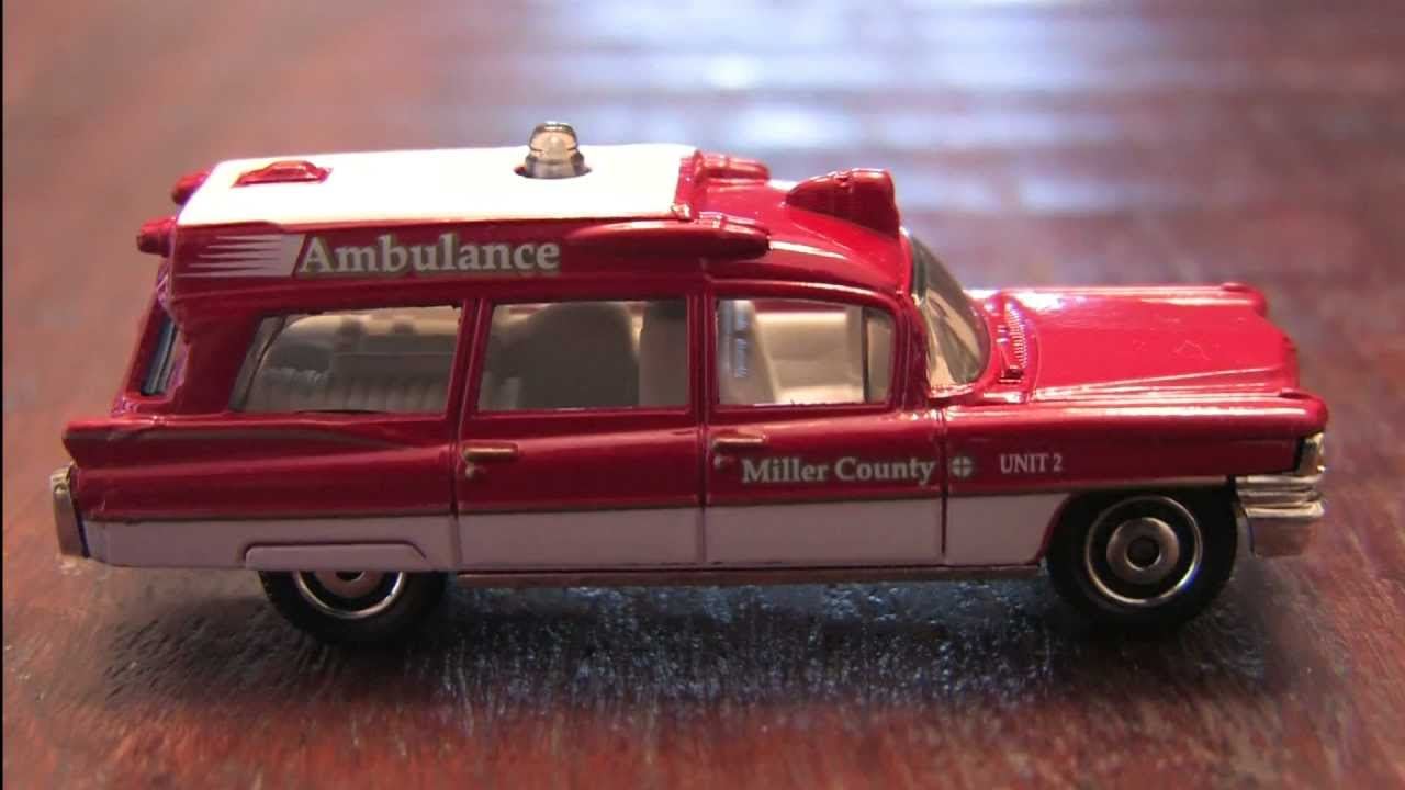 Matchbox Cadillac Ambulance Ambulance Matchbox Car