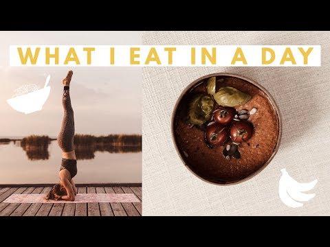 What I Eat In A Day - Vegan + Intermittierendes Fasten