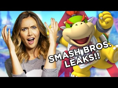 You Won't Believe These LEAKED Super Smash Bros. Characters! (Nerdist News w/ Jessica Chobot)